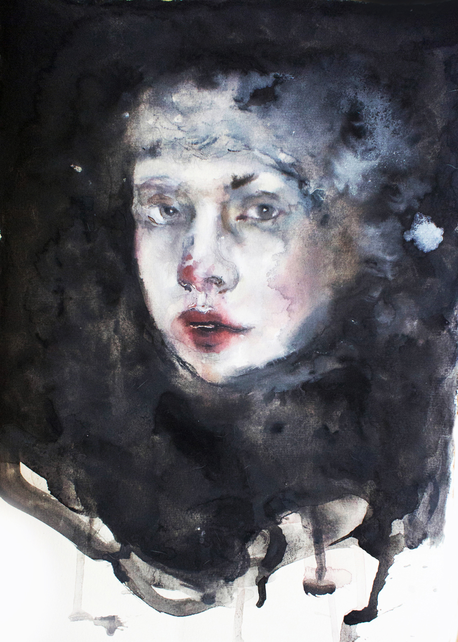Woman, 2013, 40x27cm, watercolor on paper