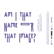Am I that name or that image | Museum of contemporary art Skopje